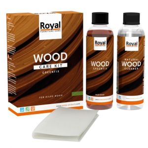 Greenfix Wood Care Kit + Cleaner 2 x 250 ml