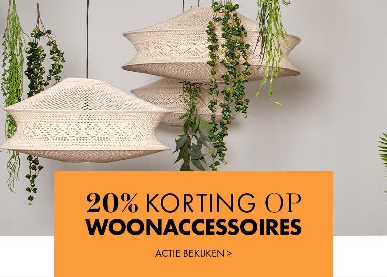 20%           Korting Op Woonaccessoires